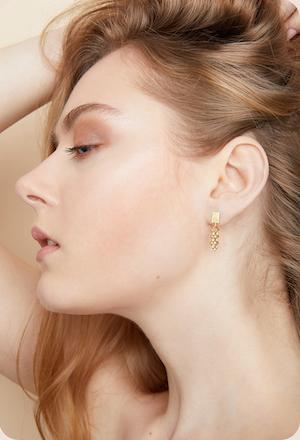Diamant Gold Ohrringe
