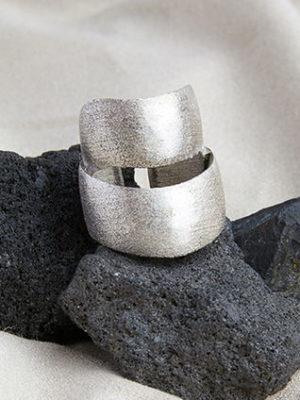 DoppeltesBand Silber