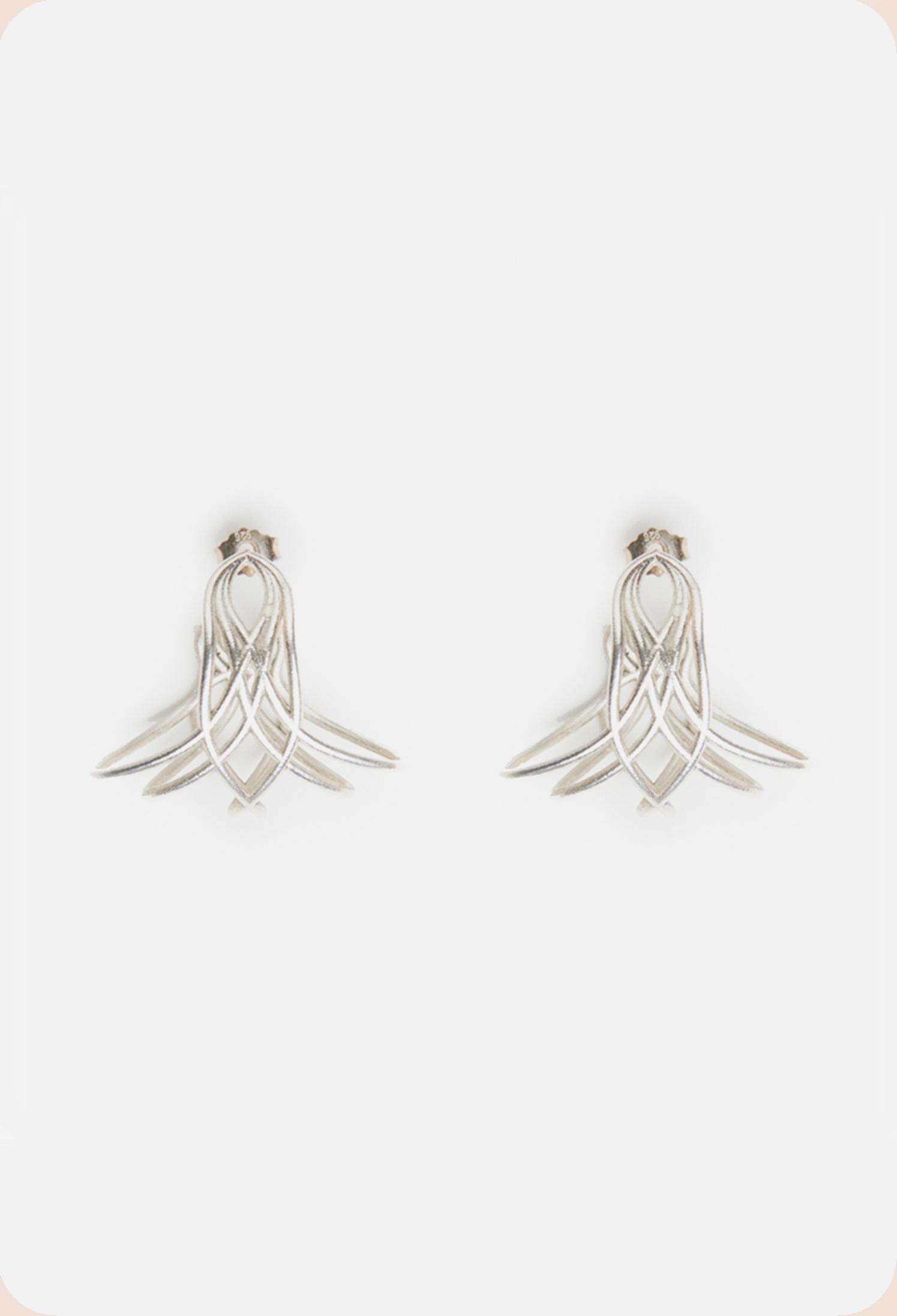 Ohrringe bienenkönigin sterling silber (2)