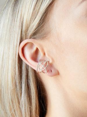 earcuff silber