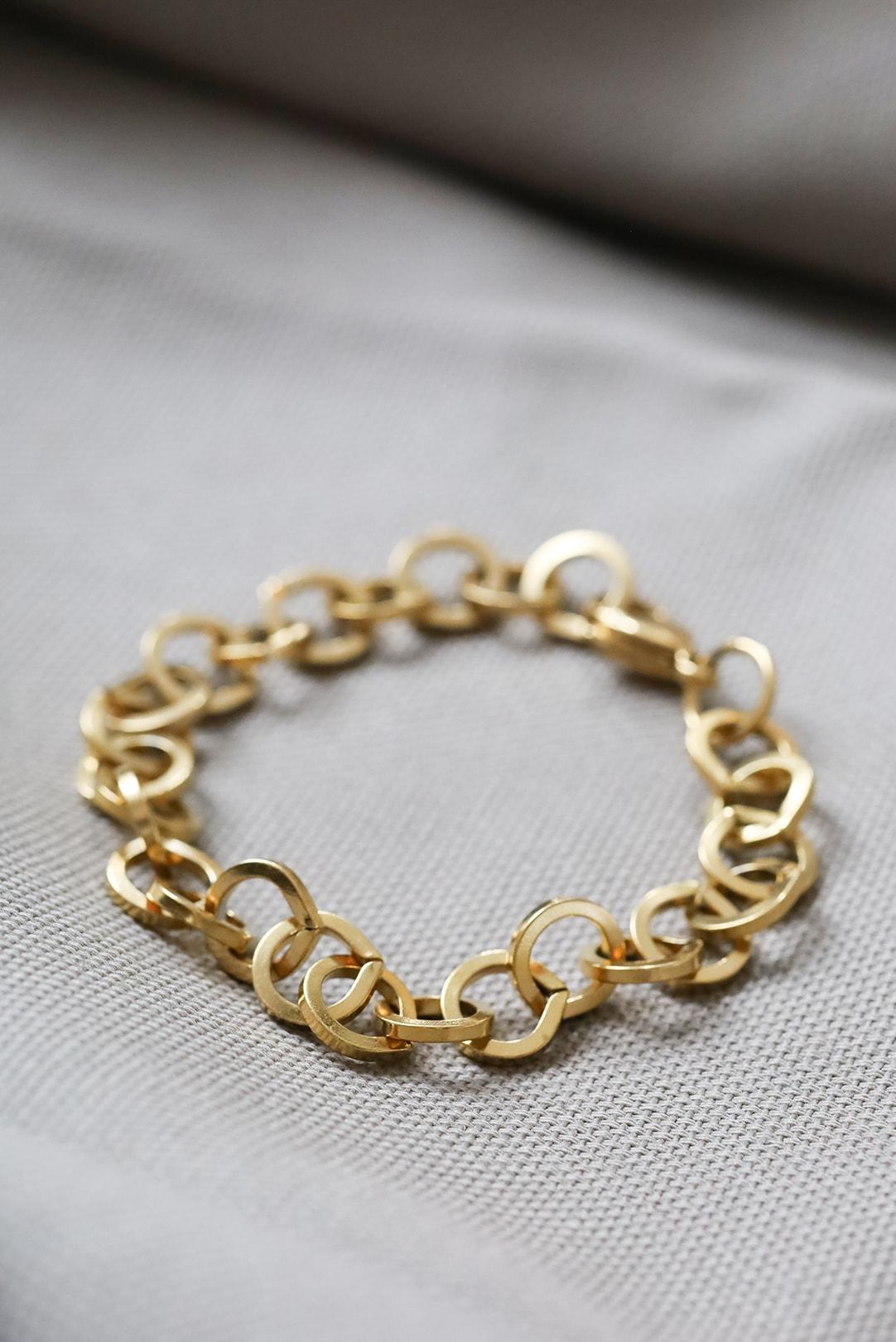 Armkette für Damen gold