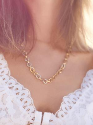 Kette sommer gold