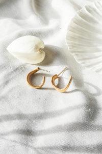 Creolen Gold und Silber by Laura Spilker