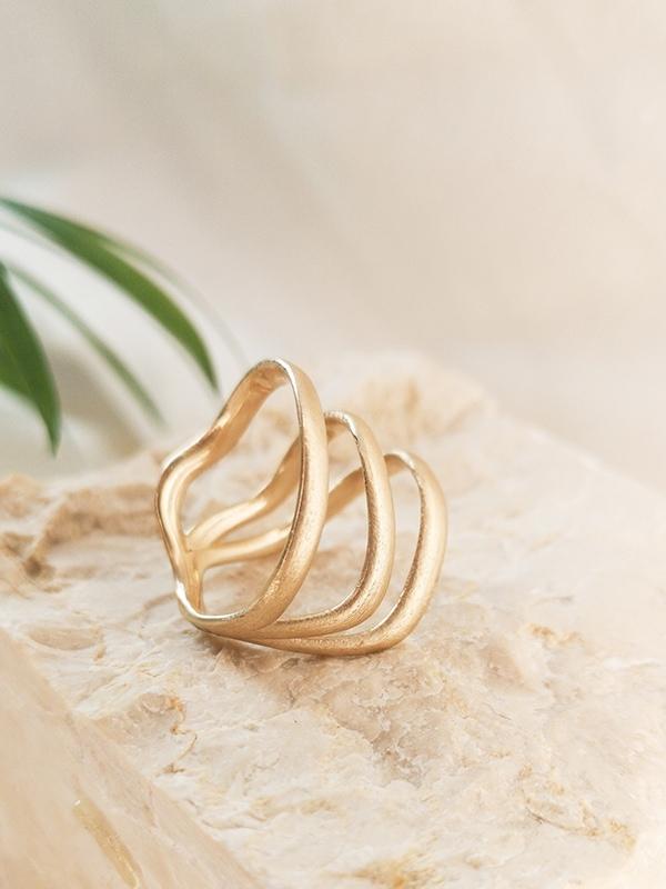Echtgold Ring