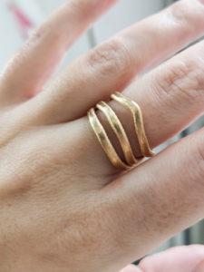 filigraner ring gold