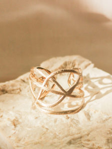 Echtgold Ring by Laura