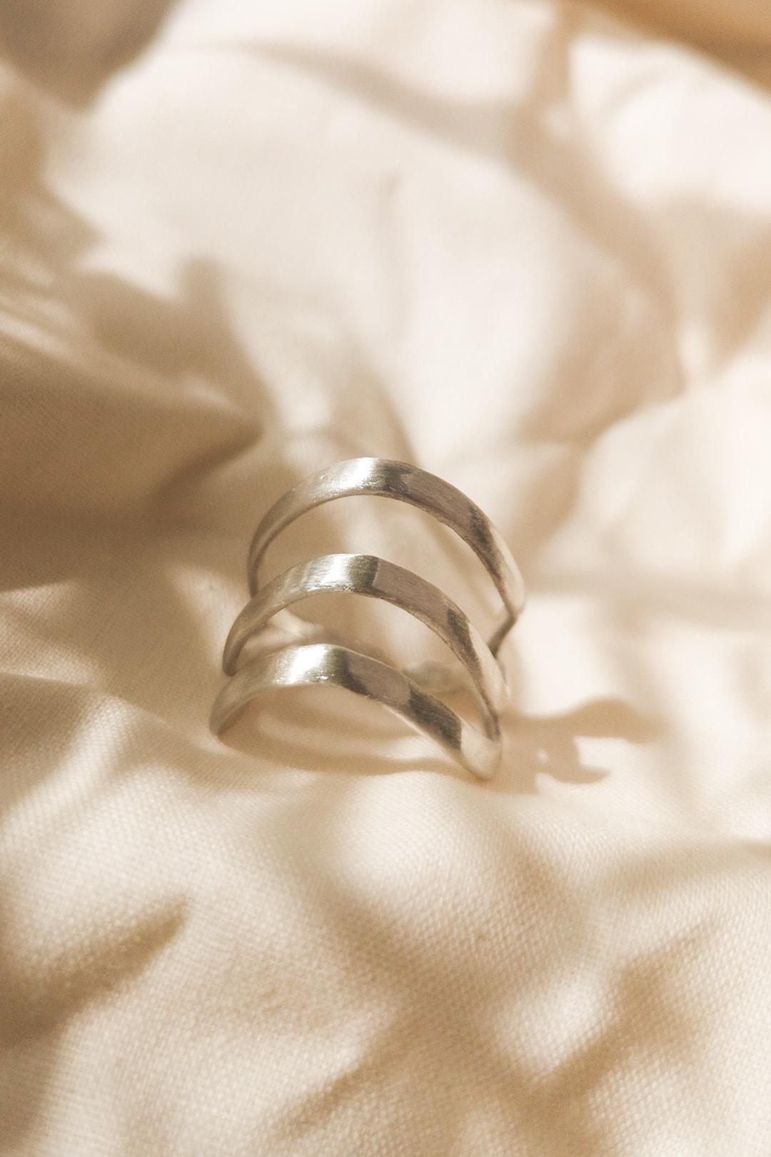 Silber Ring Design