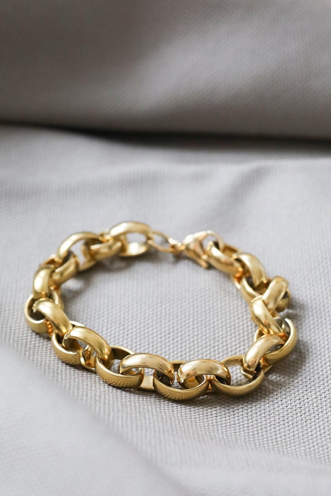 Edelstahl Damen Armkette